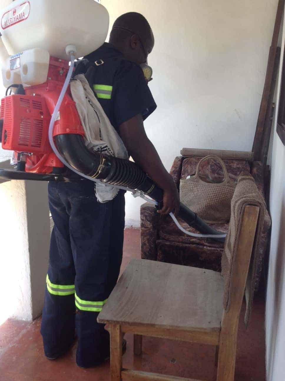 Tunafanya kazi ya fumigation majumbani kwa bei nafuu