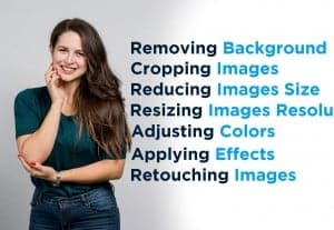 I Will Do Photoshop Editing Job including background removal and enhancement
