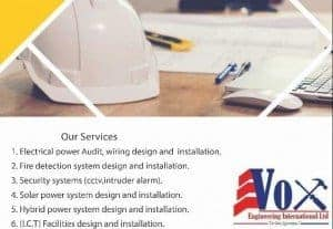 Engineering Consultancy in Electrical and Electronic